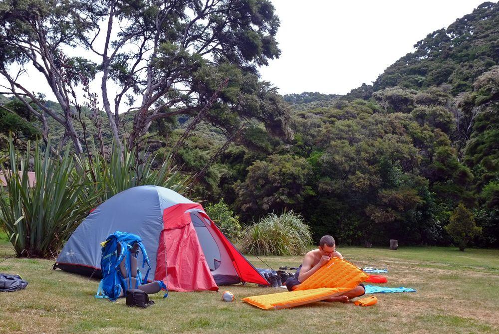 Kamping na Abel Tasman